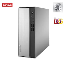 Lenovo IdeaCentre 3i Desktop (10th Gen Intel Core i3-10100/4GB/1TB HDD/DOS/Integrated Intel UHD Graphics/WiFi 5/Bluetooth 5.0) (90NB0020IN)