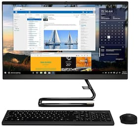 Lenovo Ideacentre A340 23.8-inch Full HD IPS All in One Desktop (10th Gen Intel Core i5/8GB/1TB HDD/Windows 10/MS Office 2019/Integrated Intel UHD Graphics), Business Black (F0E800Q1IN)