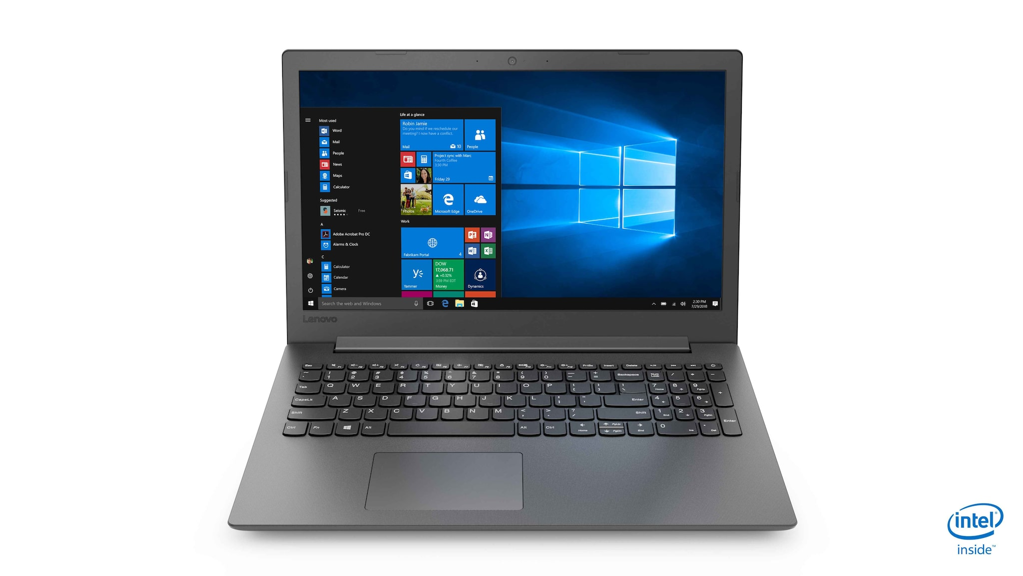 Lenovo Ideapad 130 (Core i3 - 6th Gen/4 GB RAM/1 TB HDD/15.6 Inch/DOS) 81H70059IN (Black, 2.2 Kg)