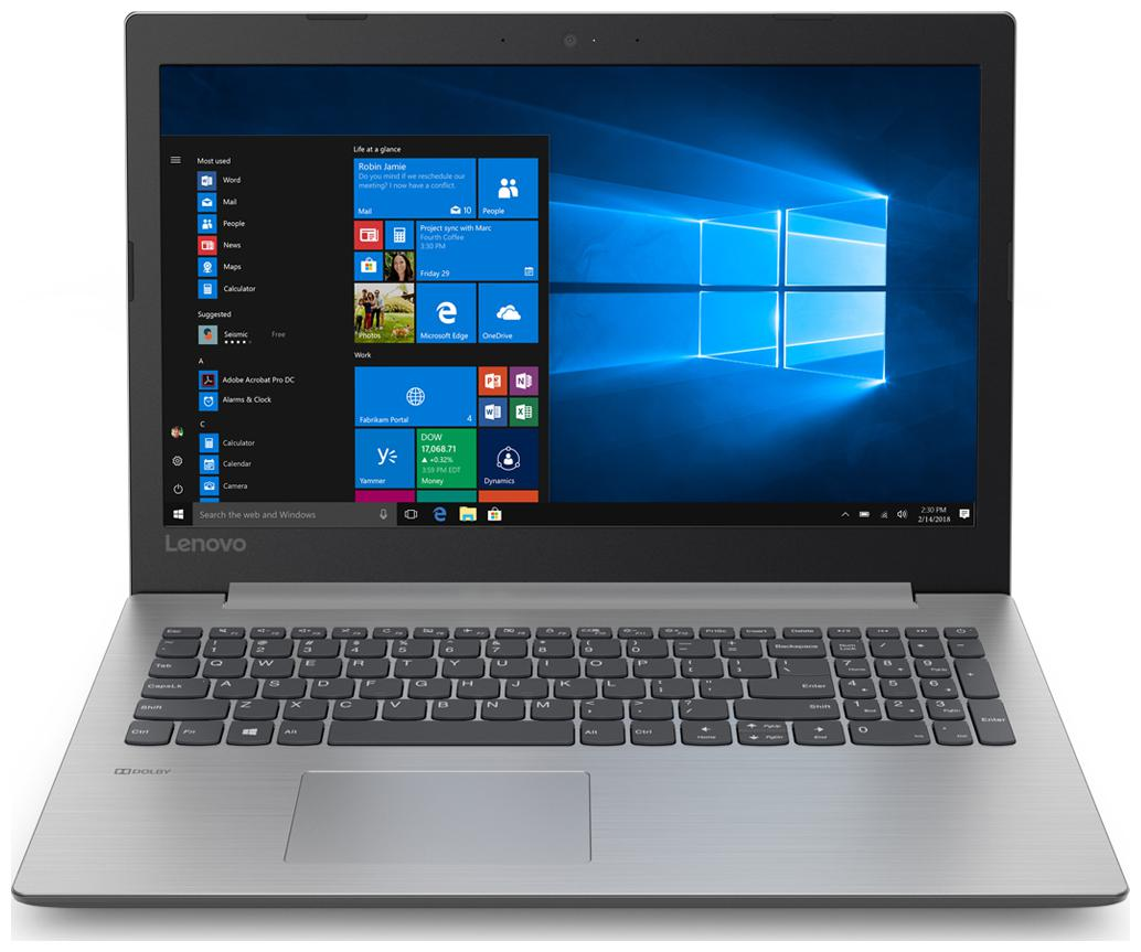 Lenovo Ideapad 330 (AMD A9 /4 GB RAM/1 TB HDD/39.624 cm (15.6 inch)/Windows 10) 81D600B0IN (Platinum Grey  2.2 Kg)