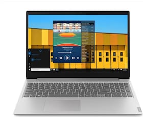 "Lenovo S145-81VD00EFIN Laptop (Intel Core i3-7th Gen 7020U @2.3GHz /4GB RAM /1TB HDD /15.6"" FHD /Windows 10 Home+MS Office /Platinum Grey /No ODD) Without Optical Drive"