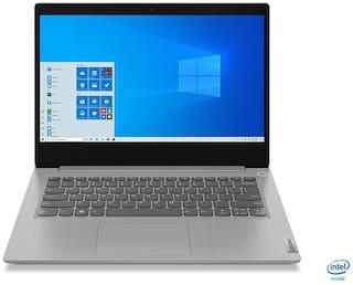 Lenovo Ideapad Slim 3i (10th Gen Intel Core i3-1005G1/4GB RAM /1TB HDD/35.56 cm (14 inch)/ HD/DOS) 81WD00K0IN (Platinum Grey,1.6Kg)