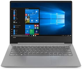 LENOVO Ideapad 330S (Core i3-8th Gen/4 GB DDR4/1 TB HDD/35.56 cm (14 inch)/WINDOWS 10/MS OFFICE) 81F401FVIN (Platinum Grey  1.67 kg)