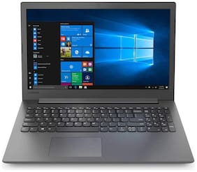 Lenovo Ideapad 130 (Core I3-7th Gen 7020U/4GB RAM/1TB HDD/WIN 10/39.62cm (15.6inch)/DVD) 81H700BLIN (Black/2.1Kg)