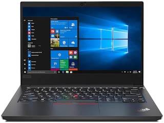 Lenovo ThinkPad E14 Intel Core i5 10th Gen 14-inch Full HD Thin and Light Laptop (8GB RAM/ 512GB SSD/ Windows 10 Professional/ Black/ 1.77 kg), 20RAS13M00