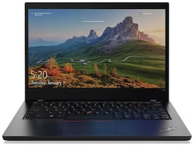 Lenovo Thinkpad L14 Laptop (Intel Core i5-10th Gen/8 GB DDR4 RAM/512 GB SSD/35.56 cm (14 inch)/FHD/DOS/Backlit keyboard) 20U1S1N800 (Silver, 1.7 kg)