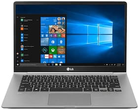 LG Gram Ultrabook (Core i5-8th Gen / 8 GB RAM / 256 GB SSD / 35.56 cm (14 inch) / Windows 10) 14Z980-G.AH52A2 (Dark Silver,0.99 Kg)