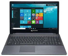 Micromax Alapha LI351568W (5th Gen Intel Core i3- 6GB RAM- 500GB HDD- 39.62cm (15.6)- Windows 10) (Grey)