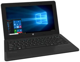 Micromax L1161 (Atom Quad Core/2 GB/32 GB/11.6(29.46 cm)/Windows 10) (Black)