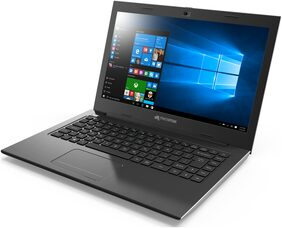 Micromax Neo PQC LPQ61407W 14.1-inch Laptop (Pentium N3700/4GB/500GB/Windows 10/Integrated Graphics), Silver