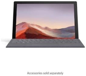 Microsoft Surface Pro 7 M1866 31.24 cm (12.3 inch) Laptop (10th Gen Intel Core i3/4GB/128GB SSD/Windows 10 Home/Intel UHD Graphics), Platinum  Without Keyboard