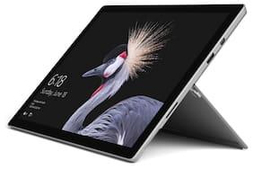 Microsoft Surface Pro (Core i5-7th Gen/8GB/128GB SSD/31.24 cm (12.3 Inch) QHD/Windows 10 Pro) Surface Pro M1796 Convertible Laptop (W/O Keyboard) (Silver, 0.77 kg)