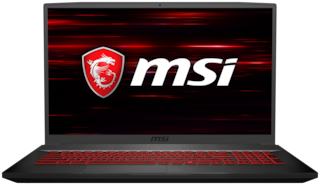 "MSI GF75 9SC-409IN Gaming (Core i7-9th Gen/512GB SSD/43.94cm (17.3"")/FHD/Windows 10/4GB GDDR5 GTX 1650) 9S7-17F212-409 Thin and Light Laptop (Black, 2.2 Kg)"