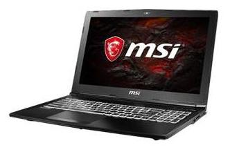 MSI GL62M-7RDX Gaming Laptop (Core i7-7700HQ/8GB DDR4/1TB HDD/2GB Nvidia GTX1050/15.6 FullHD/DOS/2 Yrs Warranty) image