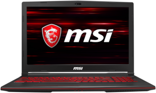 MSI GL63 9RCX-213IN (Core i5-9th Gen/8 GB/512 GB NVME SSD/ 15.6 inch (39.62 cm)/Windows 10/4 GB Nvidia GTX 1050Ti) 9S7-16P812-213 (Black, 2.2 Kg)