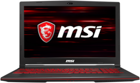 MSI GL63 9SC-216IN (Core i7-9th Gen/8 GB/1 TB HDD + 128 GB SSD/39.62 cm (15.6 Inch) FHD/Windows 10 Home/4 GB DDR5 GTX 1650) 9S7-16P812-216 (Black, 2.2 kg)
