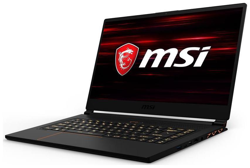 MSI GS  Core i7   8th Gen / 16  GB / 512  GB SSD / 39.62 cm  15.6 Inch  FHD / Windows 10 / 8  GB Graphics  GS65 8RF Gaming Laptop  Black, 1.8 kg