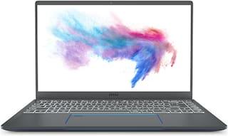 MSI Prestige 14 A10RB-038IN (Core i7 - 10th Gen/16 GB RAM/ 512 GB SSD / 35.56 cm (14 inch) /Windows 10/ 2 GB Graphics) 9S7-14C212-038 (Grey  1.29 kg)()