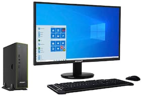 RDP Remote PC BWJ37102PA - Intel? Pentium Processor J3710  up to 2.64 GHz - 4GB RAM - 500GB HDD - Windows 10 Pro - 19.5 HD LED Monitor