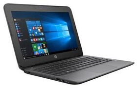 "HP Pavilion 11-S002TU (W0H98PA) (Celeron Dual Core/2 GB/500 GB/29.4 cm (11.6"")/Windows 10 Home) (Black)"