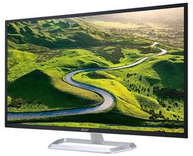 """Acer EB321HQU 31.5"""" 2K LED Monitor with 2560 x 1440 Resolution 300 Nits Brightness 4MS Response Time"""