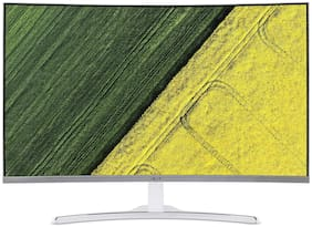 Acer ED322Q 80 cm (31.5 inch) Curved Full HD LED Backlit Computer Monitor with Stereo Speakers  (White)