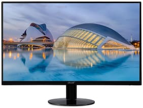 Acer SA240 60.45 cm (23.8 inch) Full HD IPS Panel Slim LED Monitor HDMI & VGI Connectivity with AMD Free Sync Technology