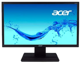 """Acer V206HQL 19.5"""" HD LED Monitor with HDMI, VGA Ports and Stereo Speakers"""