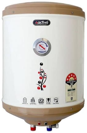 ACTIVA 15 L Amazon Glassline 5 Star storage geyser (Ivory)