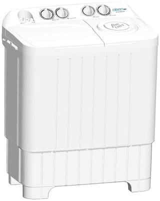 Aisen 7.5 Kg Semi automatic top load Washing machine - A75SWM700-W , White