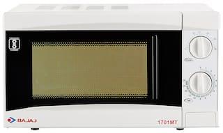 Bajaj 17 ltr Solo Microwave Oven - 1701 MT , White