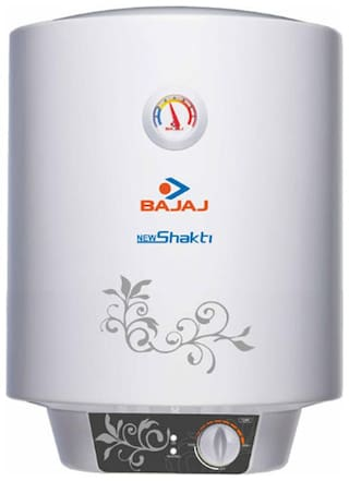 Bajaj NEW SHAKTI GLASSLINED 25 L Electric Geyser ( White )