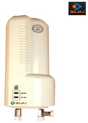 Bajaj Majesty 1-Litre 3000-Watt Instant Water Heater (Ivory) 150482