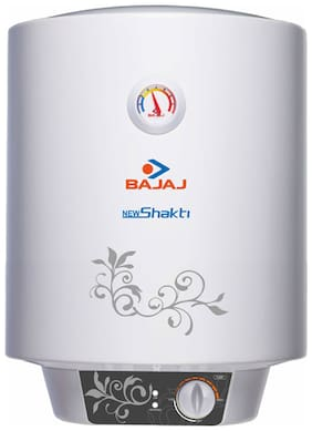 Bajaj NEW SHAKTI GLASSLINED 10 L Electric Geyser ( White )