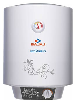 Bajaj NEW SHAKTI GLASSLINED 10 ltr Electric Geyser ( White )