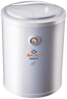 Bajaj SHAKTI GLASSLINED 25 L Electric Geyser ( White )