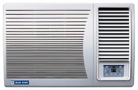 Blue Star 1.5 Ton 5 Star Window AC (5W18LC / 5W18GA / 5W18LA, White)