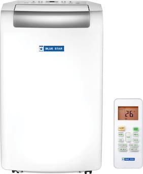 Blue Star 1 Ton Portable AC (Copper, BS-CPAC12DA, White)