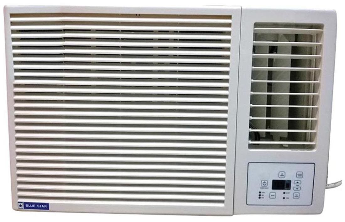 Blue Star 1.5 Ton 5 Star Window AC (5W18GA, White)