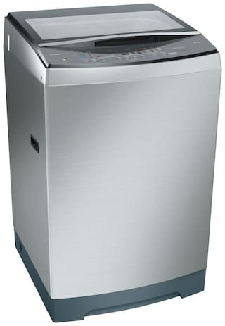Bosch 12 Kg Fully automatic top load Washing machine - WOA126X0IN , Silver-inox