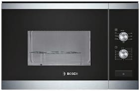 Bosch 25 ltr Built-in Microwave Oven - HMT82G654I , Stainless steel