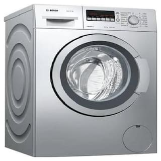 Bosch 6.5 kg Fully automatic front load Washing machine - WAK20267IN , Silver