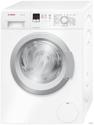 Bosch 6.5 Kg Fully automatic front load Washing machine - WAK20165IN , White