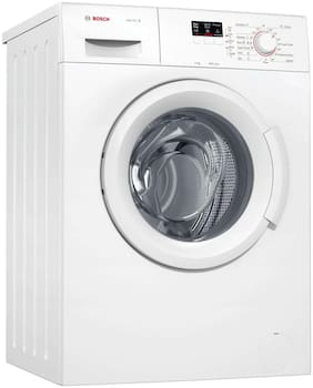 Bosch 6 Kg Fully automatic front load Washing machine - WAB16061IN , White