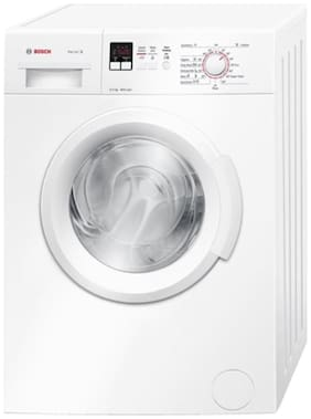 Bosch 6 Kg Fully automatic front load Washing machine - WAB16161IN , White