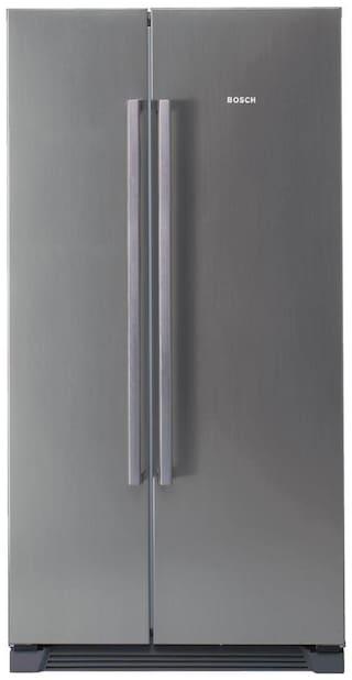 Bosch 618 L Side By Side Refrigerator (KAN56V40NE, Grey)