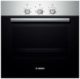Bosch 66 L Built-in Microwave Oven - HBN311E2J , Stainless steel & black