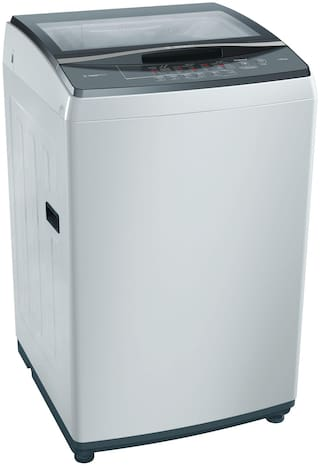 Bosch 7.5 kg Fully Automatic Top Load Washing machine - WOE704Y0IN , Champagne