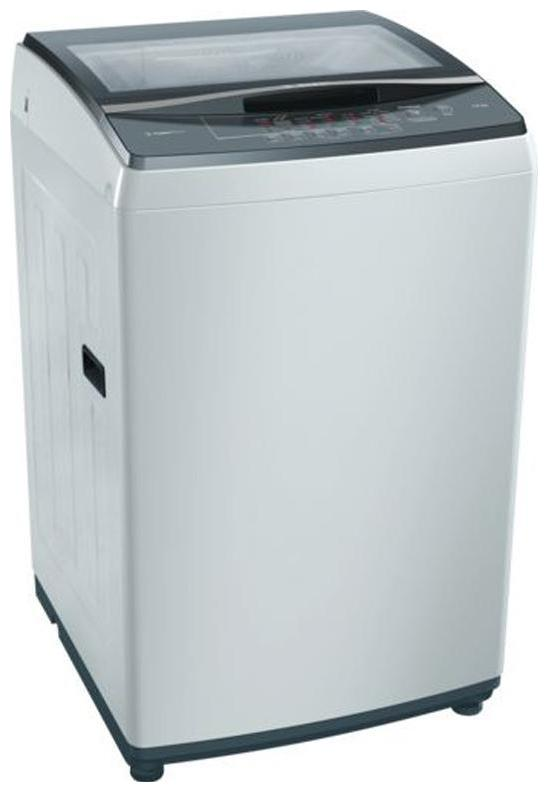 Bosch 7.5 Kg Fully automatic top load Washing machine   WOE754Y0IN , Silver by Deals Master
