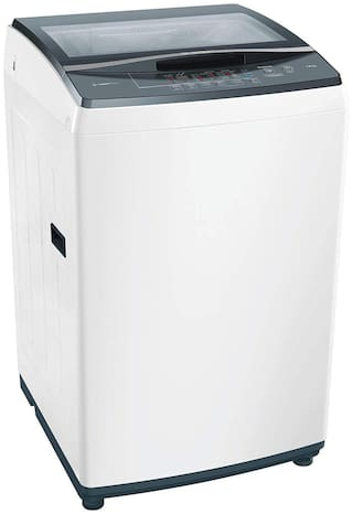 Bosch 7 Kg Fully automatic top load Washing machine - WOE704WOIN , White